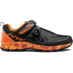 Northwave Corsair Schoenen Heren, black/siena